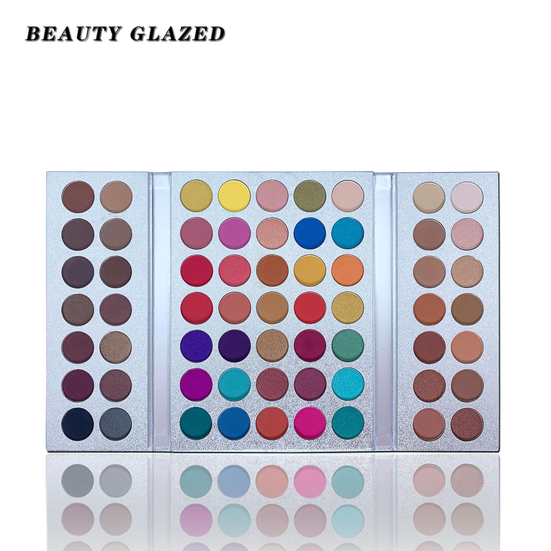 <font><b>Beauty</b></font> Glazed Gorgeous Me Eyeshadow Palette 63 Colors Shimmer Matte Eye Shadow Powder Makeup Pallete Waterproof Pigmented image