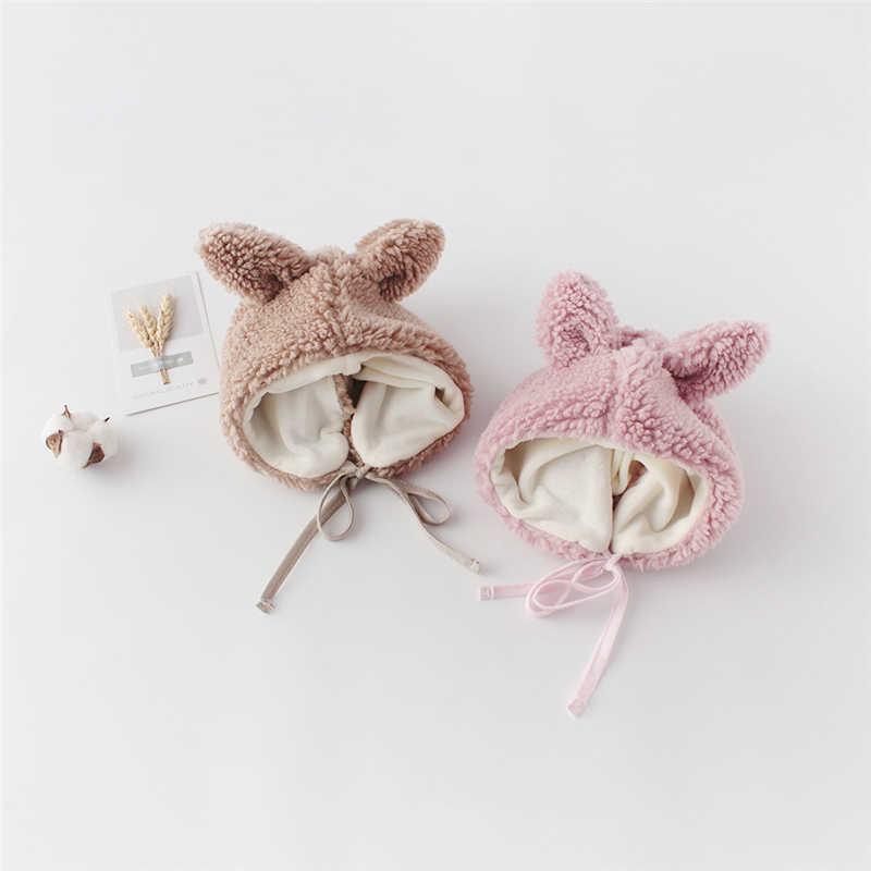 겨울 아기 소녀 양고기 캐시미어 양털 조끼 양복 조끼 유아 유아용 겉옷 신생아 가디건 + 모자 2pcs