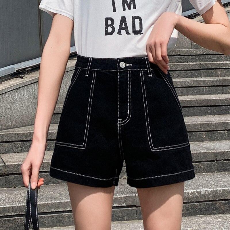 Denim Shorts Femeninos High Waisted Denim Shorts Plus Size Jeans Shorts New Summer Short En Jeans Femme