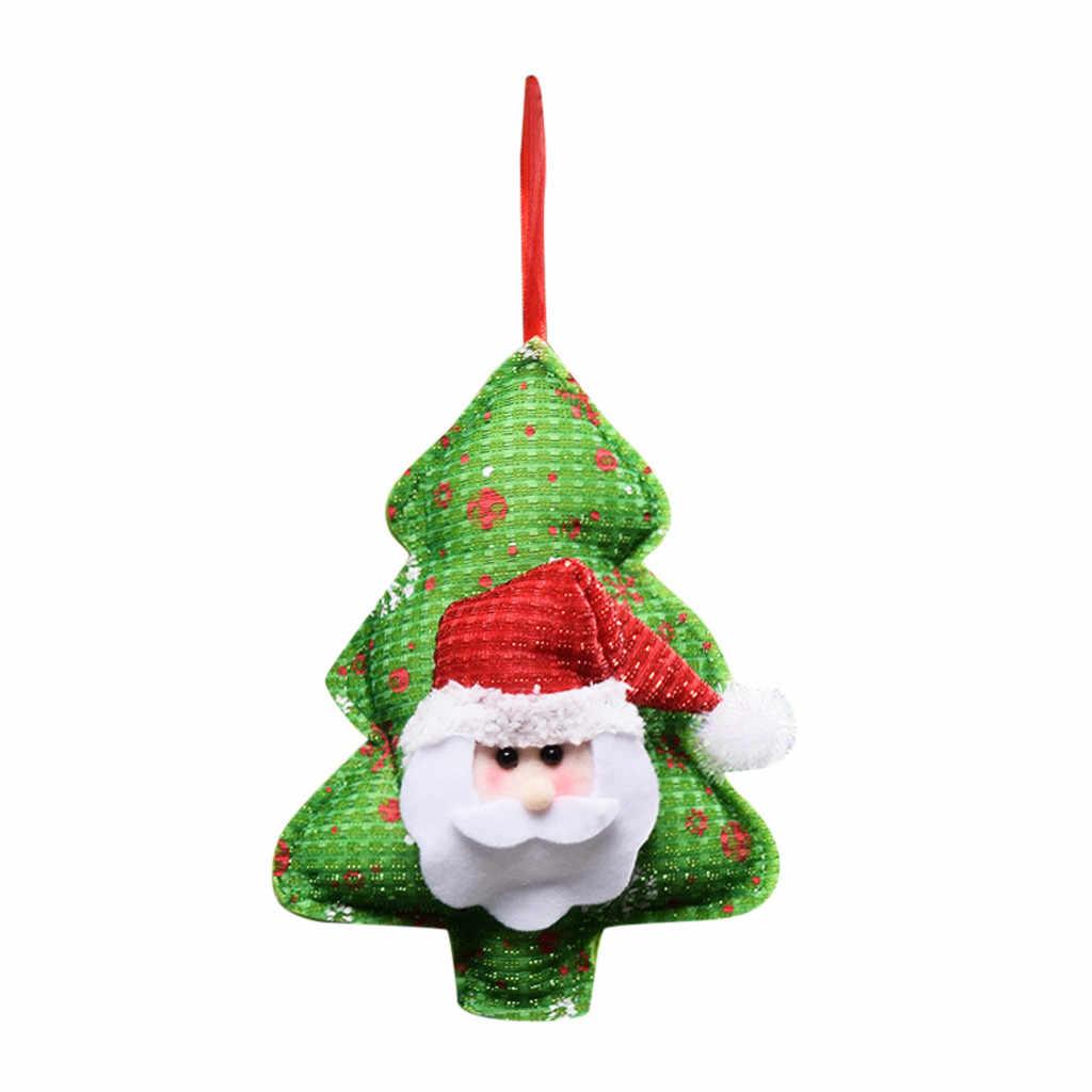 뜨거운 드롭 배송 크리스마스 장식 장식품 엘크 선물 창 테이블 간단한 장식 액세서리 도구 판매 2019 정확한