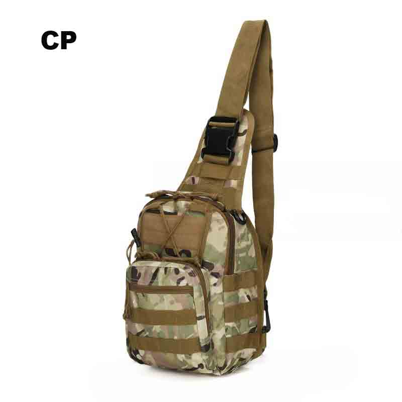 Tactical Camping Hunting Molle Chest Bag Sports Climbing Shoulder Bags Hiking Trekking Daypack Fishing Outdoor Military Backpack