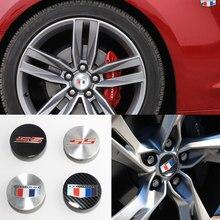 Emblema camaro 4 pçs/set chevrolet automotivo, 67mm, 68mm, pneus, hub, capa, camaro, ss, logotipo tampa do centro da roda do jante