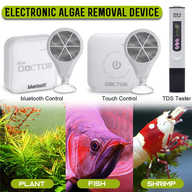 Touch/bluetooth Chihiro Doctor Aquarium Algae Cleaner Twinstar Style Electronic Sterilizer For Plants Fish Shrimp Aquarium