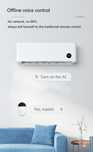Smart Home Air Conditioner System - Control with Offline Voice/Universal Remote and APP on Mobile phone (iOS & Android)