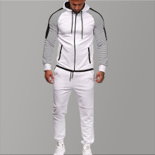 Brand Tracksuit for Men Two Piece White Tracksuits Hoodies 2019 Mens Clothing Sport Set Autumn