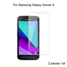 2pcs Tempered Glass For Samsung Galaxy Xcover 4 G390F G390W Xcover 4s G398F Protective Glass