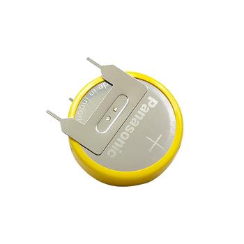 MasterFire 10 sztuk partia Panasonic CR2477 3V wysokiej wydajności odporny na wysokie temperatury przycisk monety baterii komórki z szpilki lutowane tanie i dobre opinie 1000mah 24 0 x 7 7MM Li-ion