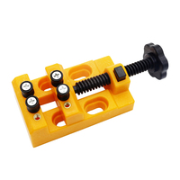Mini Bench Vise Quick Pull Black Jaw Clamp Clamp Mini Drill Press Vice Clip Pliers DIY Hand Tool Carving Vise Clamp