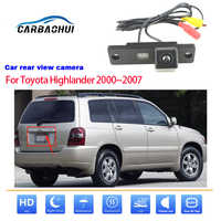 Vista trasera de coche a cámara de estacionamiento marcha atrás para Toyota Highlander 2000 ~ 2007 cámara de coche a prueba de agua de alta calidad hd CCD