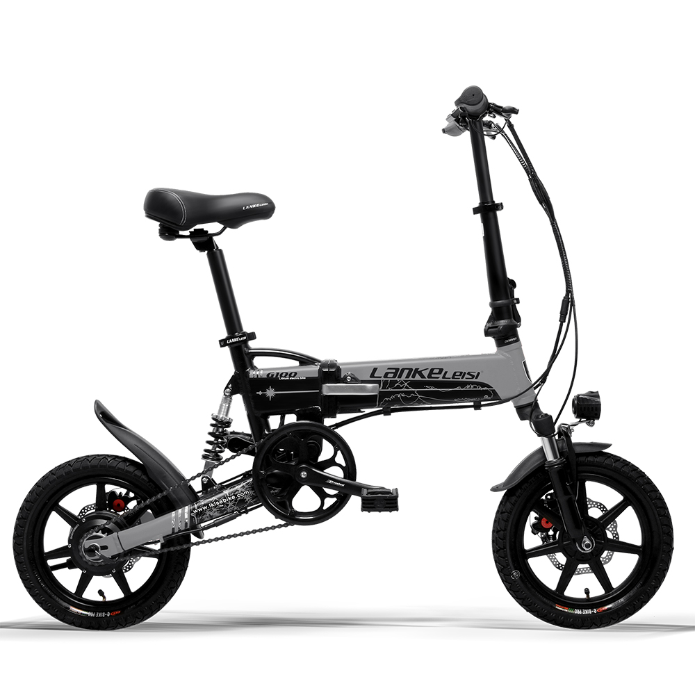 Cyrusher Mini sammenklappelig elektrisk cykel 400W 36V 8,7AH - Cykling - Foto 6