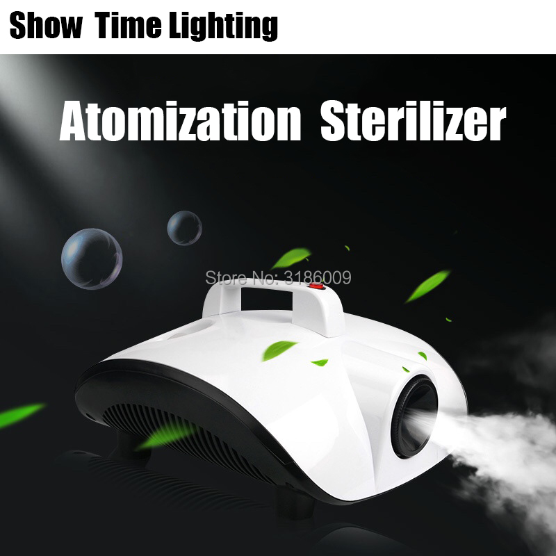 Hot Sale 220V Portable Atomization Sterilizer Kill Virus Remove Peculiar Smell 1500W Fog Machine Good Use For Car Room Office