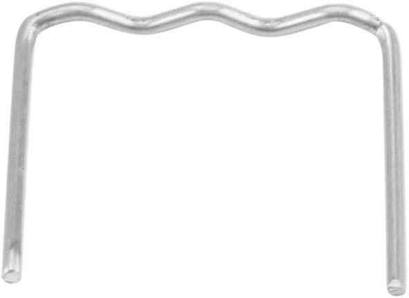 S Style reparaci/ón autom/ática de parachoques de acero inoxidable Kit de herramientas de reparaci/ón de grapas de soldadura precortadas Yctze 100 piezas de grapas de soldadura de 0,8 mm