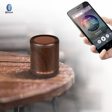 Wooden Hi-Fi Woofer Wireless Bluetooth Speaker Portable Stereo Loudspeaker(China)