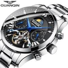 GUANQIN automatic/mechanical/luxury watch men reloj hombre c