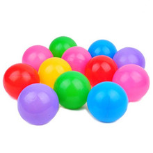 100Pcs/lot Colorful Soft Swim Pool Ocean Ball Tent Plastic Toys Balls Baby Kids Hot Selling Holiday Games Outdoor