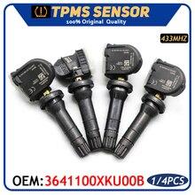3641100XKU00B ยางรถ TPMS ระบบตรวจสอบความดันยาง Sensor สำหรับ Haval HL H2 H5 H6 H7สำหรับ Great Wall C30 433MHz