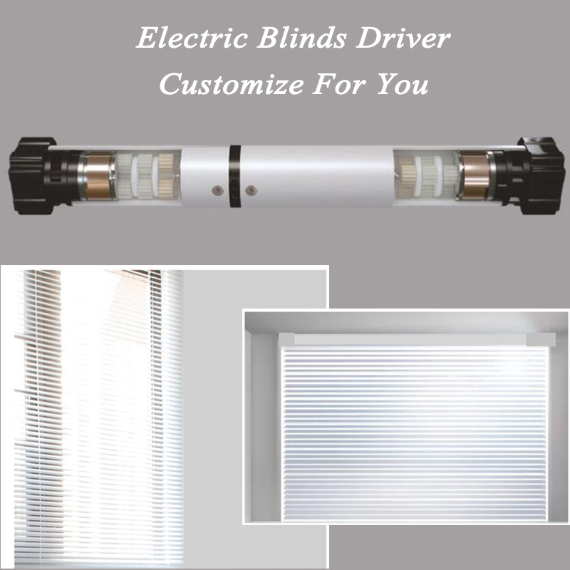 Smart Roller Shutter Tubular Blinds Motor Remote Control Sunlight Adjustment Customize For Every Customer