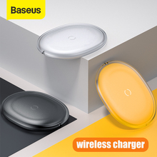 Baseus 15W Qi Wireless Charger For iPhone 11 Pro X Xr 8 7 Plus Fast Wireless Charging Pad For Xiaomi mi 10 Samsung S9 S10 Huawei