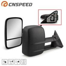 . Par para 88 98 chevy gmc c/k 1500 2500 3500 captador manual reboque espelhos com espelho de ponto cego