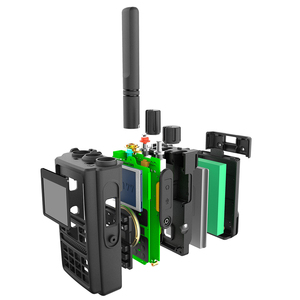 Image 2 - ABBREE AR F8 GPS 6 Bands(136 520MHz) 8W 999CH  VOX DTMF SOS LCD Color Display Amateur Ham Two Way Radio Walkie Talkie