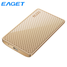 Solid-State-Drive External-Ssd 512G Eaget Portable Ssd Type-C 1TB 256G 128GB for Computer-Ms608