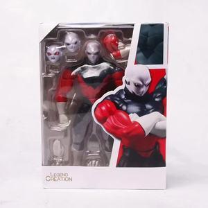 17cm Anime Jiren Dragon Ball Figure SHF Dragon Ball Super Saiyan Jiren Figure PVC Joint Movable Action Figures Collection Toy