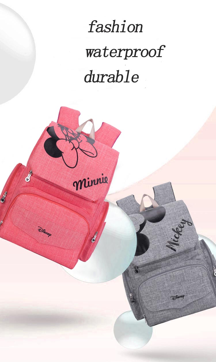 H46bb81d3acae400abed689fb18013dc5j Baby Diaper Bag Backpack Large Capacity Nappy Waterproof Maternity Baby Bag For Mum Mummy Maternity Nappy Backpack For Stroller