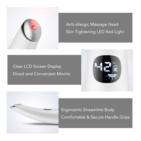 eletrica olho massagem caneta de aquecimento olho