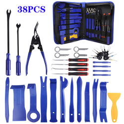 Car Installer Tool Kit Remover Set Hand Tool Kit Pry Remover Car Disassembly Tool Panel Door Remover Pry Kit Car Repair Tool