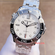 HOT 10BAR 100M Water Resistant White Sterile Dial JAPAN MIYOTA Automatic
