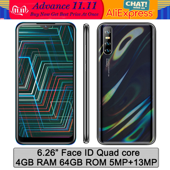 Globalna wersja Note9 oryginalny 4G RAM 64G ROM 6 26 #8221 Face id telefony komórkowe smartfony czterordzeniowy Android odblokowany celulars telefony tanie i dobre opinie BYLYND Odpinany CN (pochodzenie) Rozpoznawania twarzy Do 48 godzin 13MP 3200 Adaptacyjne szybkie ładowanie Bluetooth 5 0