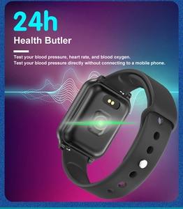 Image 4 - B58 الساعات الذكية مقاوم للماء الرياضة B57 زائد آيفون أبل الهاتف Smartwatch رصد معدل ضربات القلب ضغط الدم للنساء الرجال