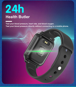 Image 4 - B58 Smart watches Waterproof Sports B57 Plus for iphone Apple phone Smartwatch Heart Rate Monitor Blood Pressure For Women men
