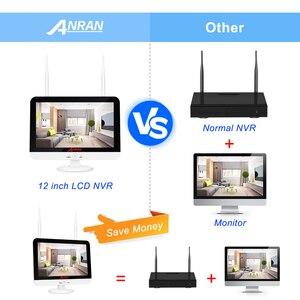 Image 4 - Anran sem fio sistema de cctv 1080p hdd 2mp nvr ip IR CUT ao ar livre cctv câmera sistema de segurança ip kit vigilância vídeo app controle