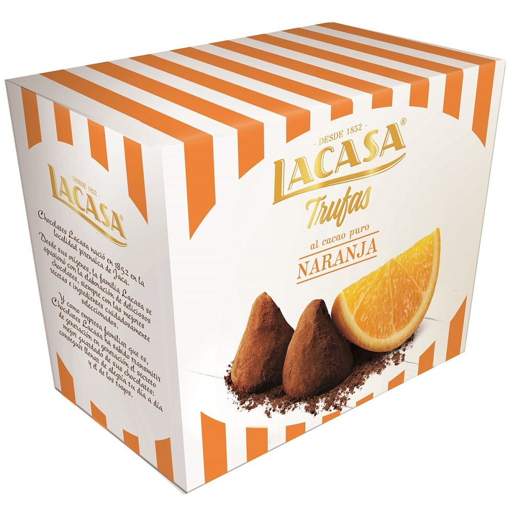 Truffles lacase orange · 200 g