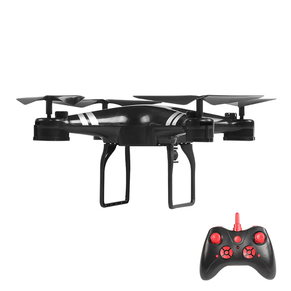 Four Axis With Camera Quadcopter One Key Return Wide Angle RC Toys Rechargeable Drone Wifi Transmission Headless Mode 3D Flips