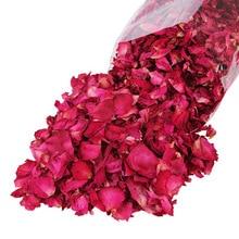 50 г Натуральные сушеные цветы лепесток высушенная Роза лепестки Спа Отбеливающий Душ Ванна инструмент