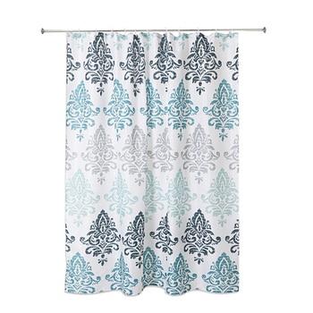 FashionPolyester Waterproof Shower Curtain European Style Light Luxury Bathroom Shower Curtain Waterproof Cloth