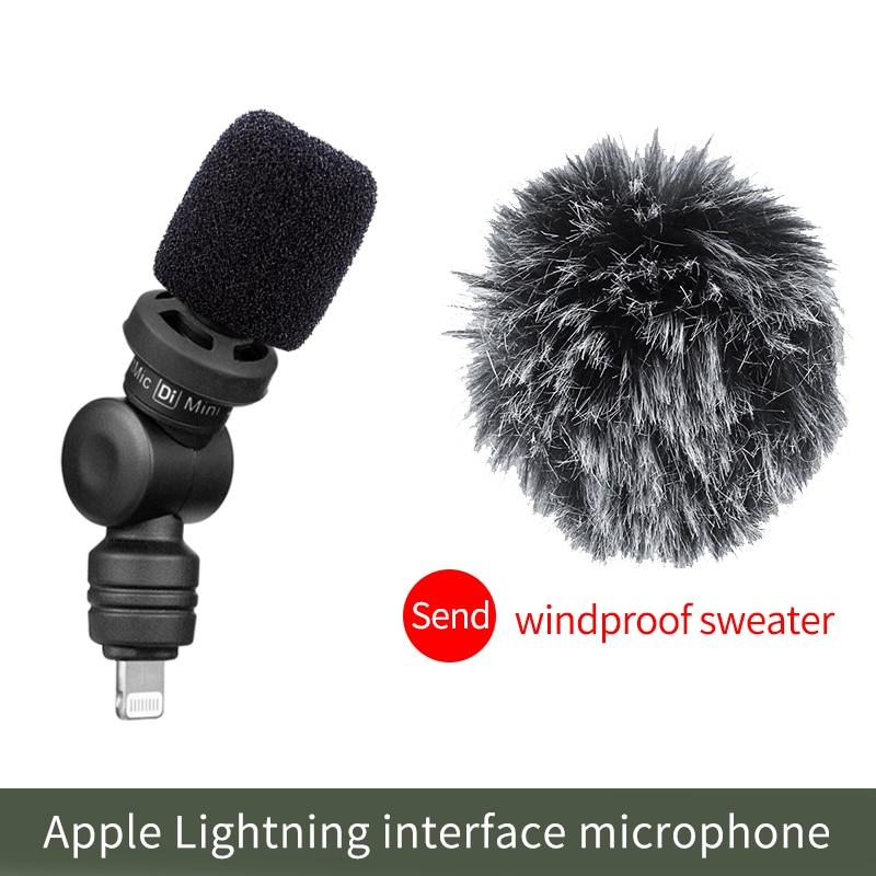 Micrófono inteligente Saramonic Di Mini / UC Mini, micrófono Vlog para vídeo, Audio y grabación, micrófono inalámbrico para iPhone 11 Pro Max X Android