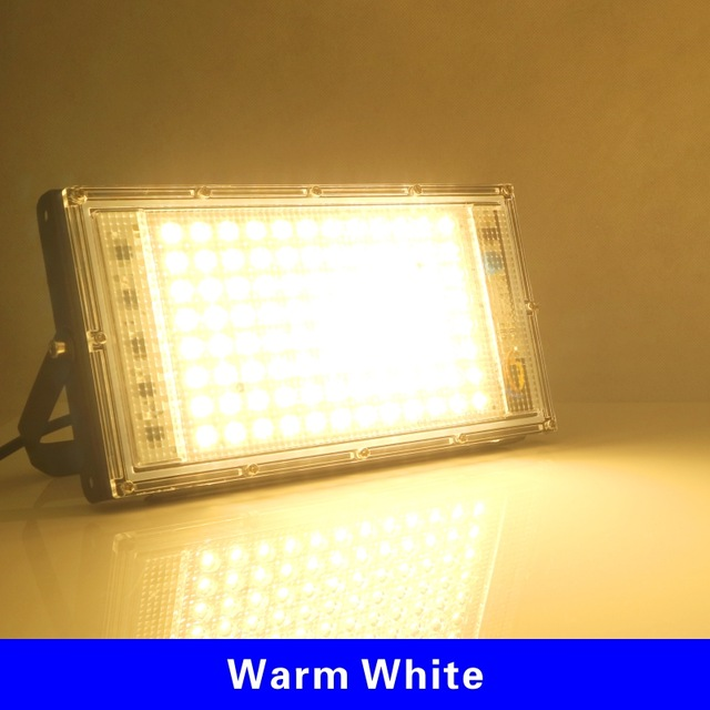 100W LED Flood Light AC 220V Projector IP65 Waterproof Floodlight Spotlight Reflector LED Street Lamp Outdoor Light Lighting