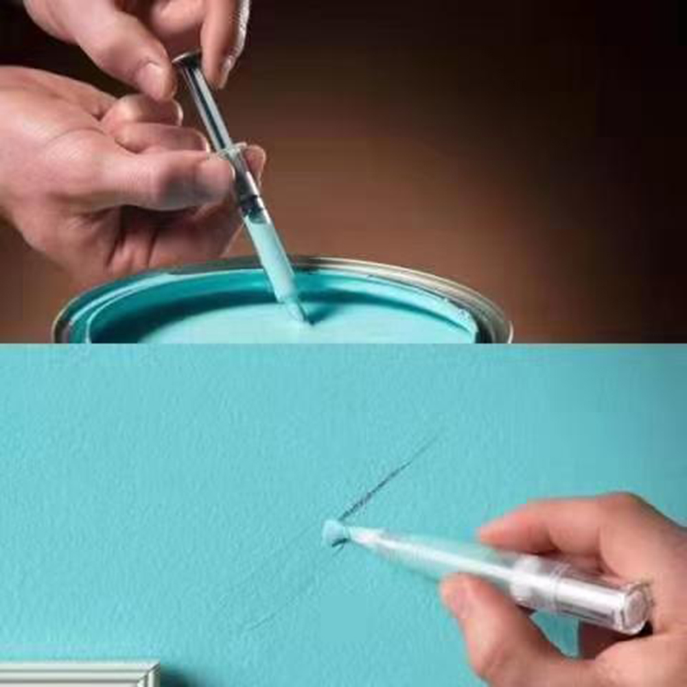 Touch-Up Paint Pen Universal Repair Pen For Wall Furniture Surface Scratch Repair Brush Suction Pen