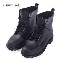 Aleafalling/непромокаемые сапоги нового дизайна водонепроницаемая