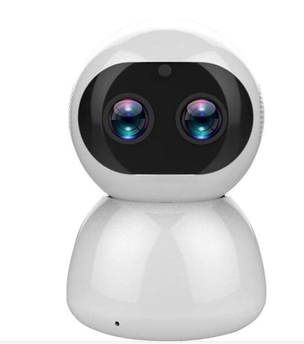 12MP 12MP 8x Zoom 1080P Dual Lens Câmera PTZ IP