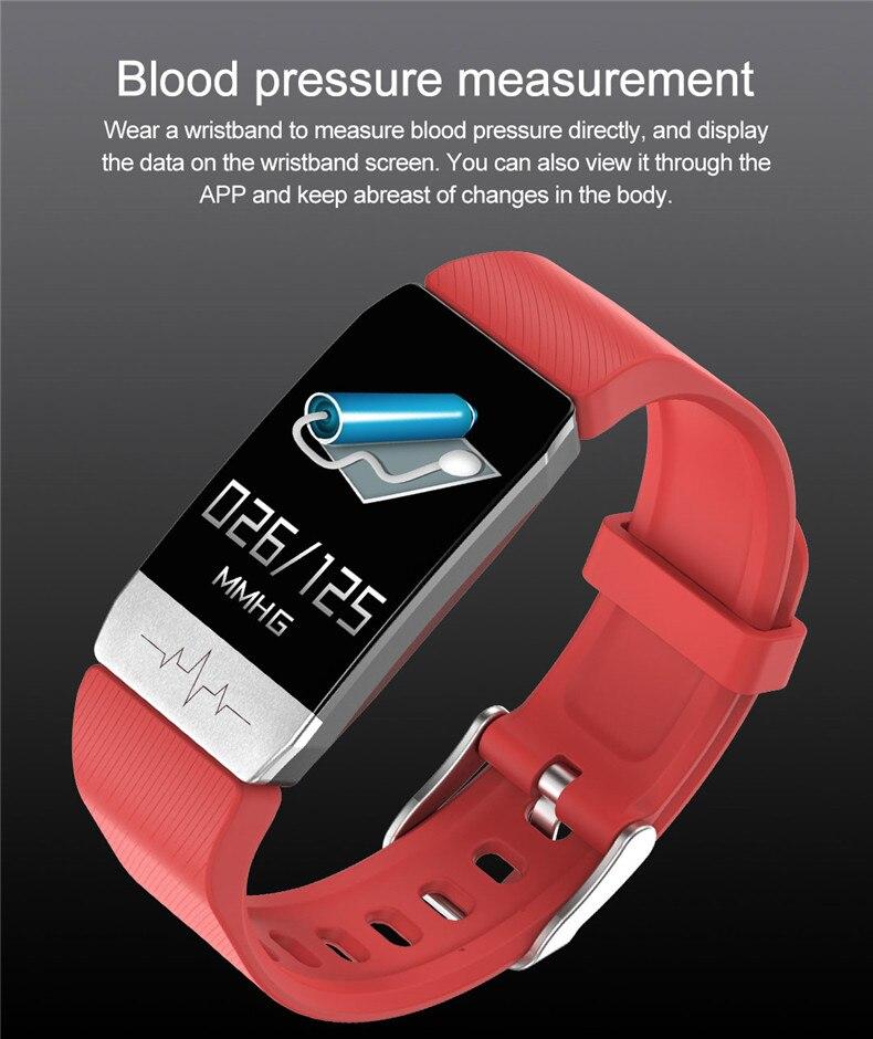 Hkbz pulseira smart ecg, pulseira smart para