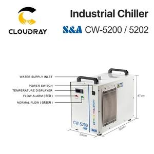 Image 5 - Cloudray S & Một CW5200 CW5202 Ngành Công Nghiệp Không Nước Tủ Lạnh Cho CO2 Khắc Laser Cắt Máy Làm Lạnh 150W Laser ống