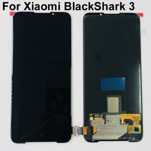 "Image 1 - 6.67"" AMOLED Original New For Xiaomi BlackShark 3 LCD Display Screen+Touch Panel Digitizer With Fingerprint For Black Shark 3"