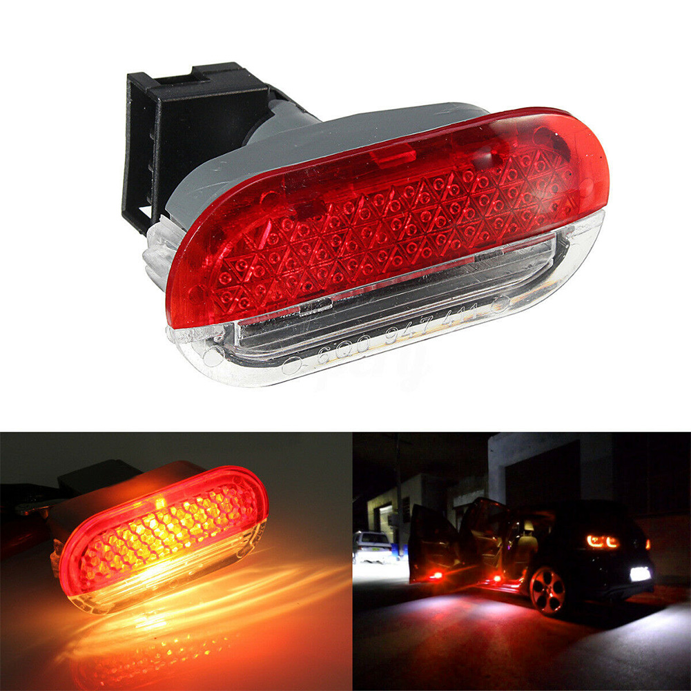 Interior Door Car <font><b>Led</b></font> Multifunction Projector Warning <font><b>Light</b></font> Vehicle Durable Lamp Safety Shadow Courtesy Night For <font><b>Golf</b></font> <font><b>MK4</b></font> Bora image