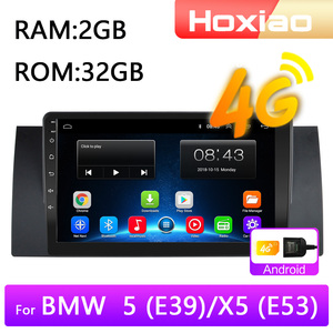 4G Android 8.1 Car Radio Multimedia Video Player for BMW 5 E39 E53 X5 1995-2001 2002 2003 2004 2005 2006 Navigation GPS 2 din