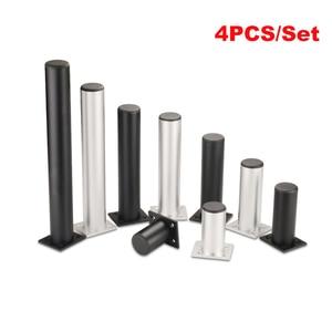 Image 2 - 4Pcs/Set Aluminum Furniture Legs Cabinet Foot DIY Thicken Adjustable 6 30CM TV Cabinet Support Leg bathroom Cabinet Feet