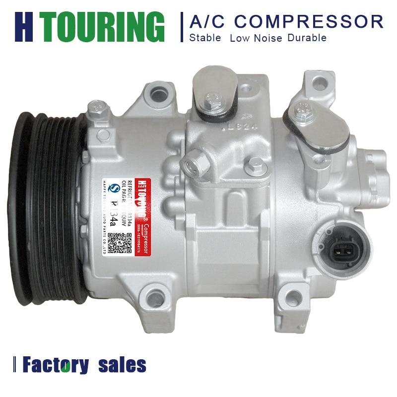 For Toyota Corolla /& Mitsubishi Mirage AC Compressor w//A//C Repair Kit BuyAutoParts 60-82177RK New